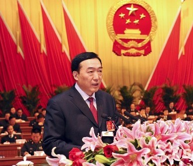 Chen Quanguo elected governor of  Hebei