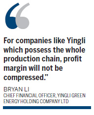 Yingli Green Energy scales up its output