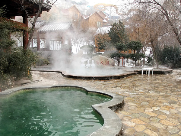 Good way to stay healthy in winter – hot spring bath